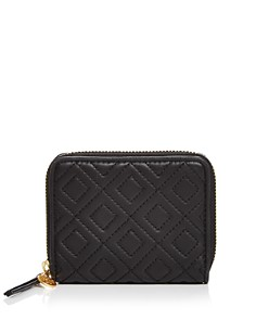 Tory Burch - Fleming Medium Leather Zip-Around Wallet